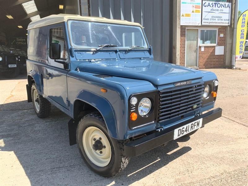 used Land Rover Defender 90 4CYL REG 2.5 DIESEL in cranleigh-surrey