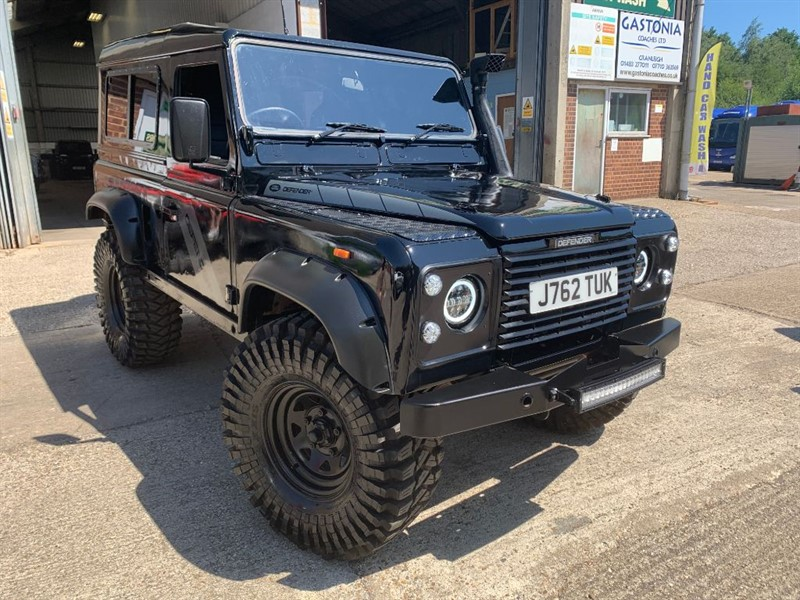 used Land Rover Defender 90 TDI HT **U.S.A EXPORTABLE** **THE BEAST** in cranleigh-surrey