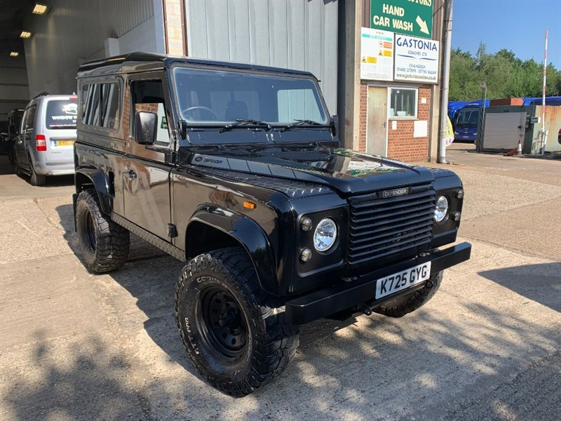 used Land Rover Defender 90 TDI HT **U.S.A EXPORTABLE** NEW CLUTCH FITTED ** in cranleigh-surrey