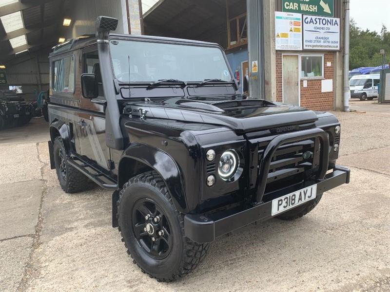 used Land Rover Defender 90 COUNTY SW TDI **AIR CON** in cranleigh-surrey