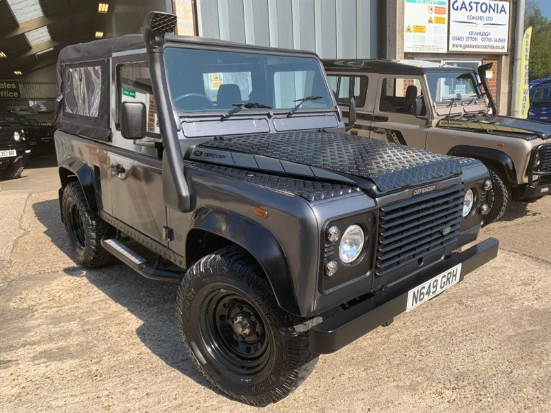 used Land Rover Defender 90 SOFT TOP TDI **U.S.A EXPORTABLE MAY 2021** in cranleigh-surrey