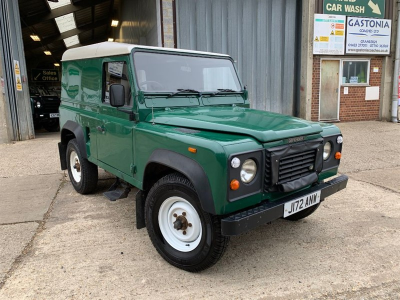 used Land Rover Defender 90 200TDI HT in cranleigh-surrey