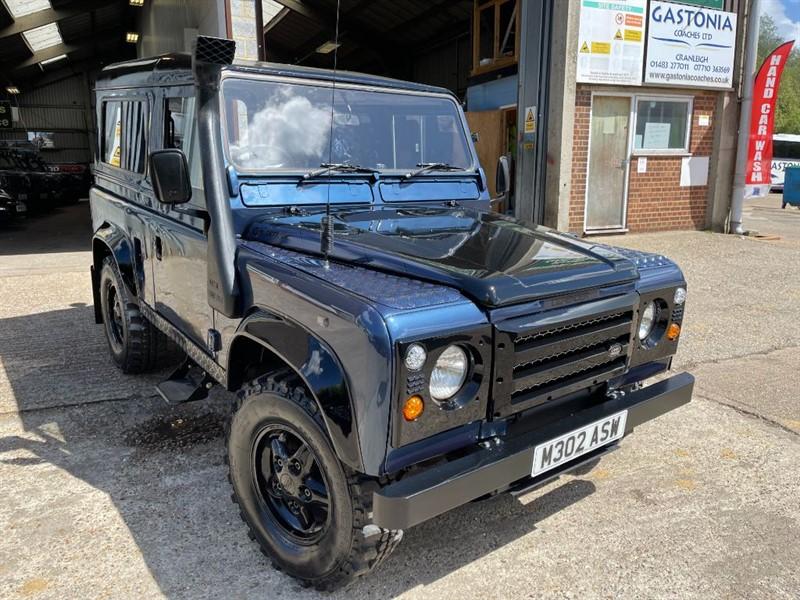 used Land Rover Defender 90 COUNTY TDI **300TDI U.S.A EXPORTABLE** in cranleigh-surrey