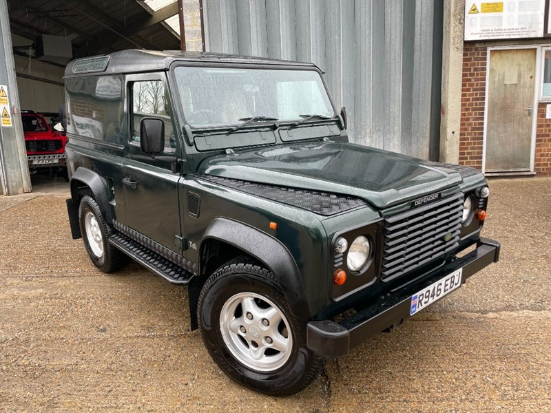 used Land Rover Defender 90 300 tdi county model only 130000 miles in cranleigh-surrey