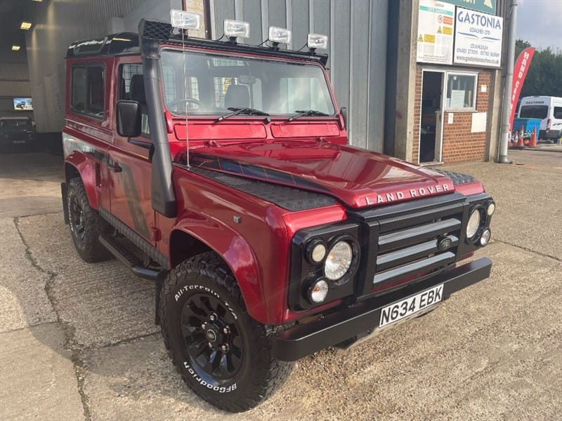 used Land Rover Defender 90 TDI COUNTY **U.S.A EXPORTABLE**ONLY 76K MILES** in cranleigh-surrey