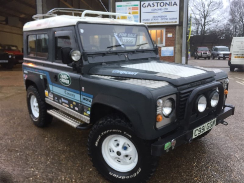 used Land Rover Defender 90 2.5 petrol county station wagon in cranleigh-surrey