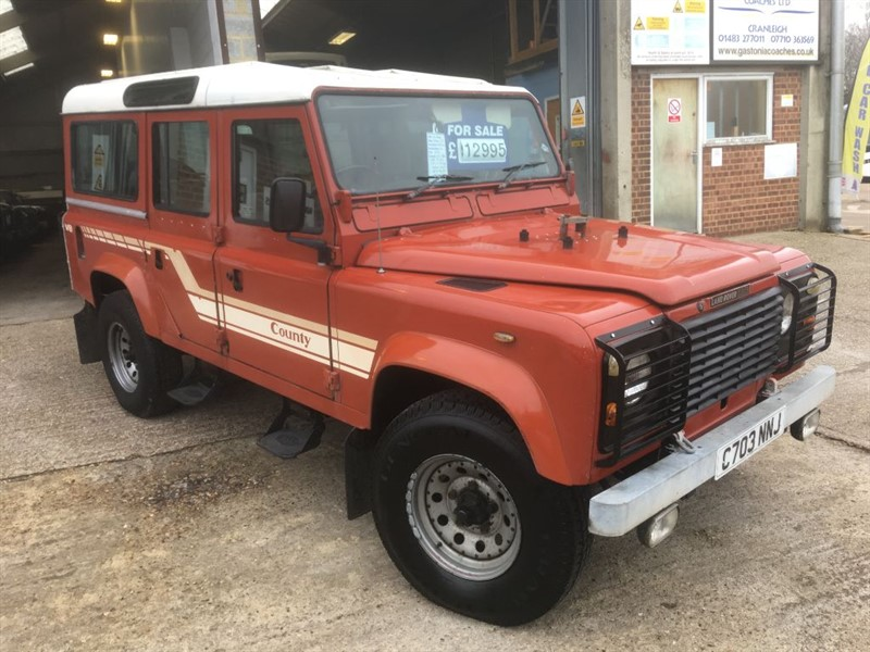 used Land Rover Defender 11O V8 COUNTY STATION WAGON WITH LPG AMAZING CONDITION REALLY MUST BE SEEN in cranleigh-surrey