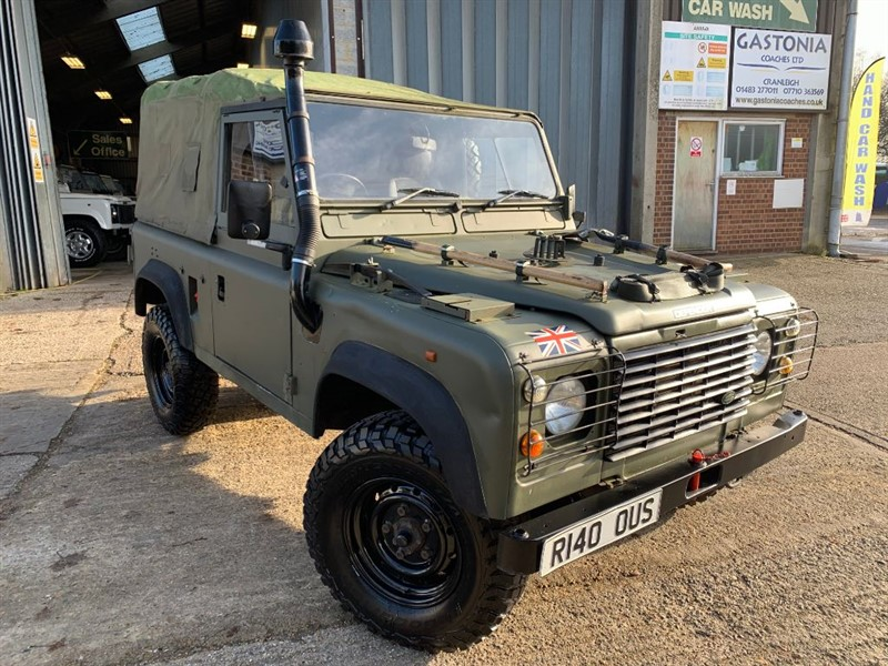 used Land Rover Defender 90 HT 2.5P **GENUINE WOLF** 300TDI in cranleigh-surrey