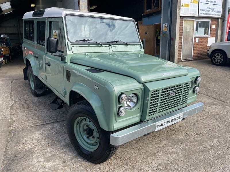 used Land Rover Defender 110 COUNTY SW 10S TDI **U.S.A EXPORTABLE ** LEFT HAND DRIVE** in cranleigh-surrey