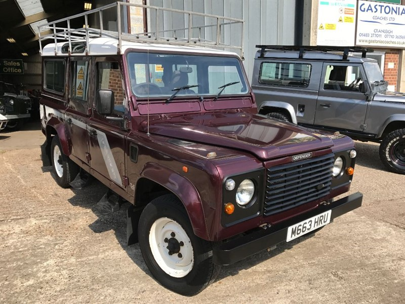 used Land Rover Defender 110 COUNTY TDI in cranleigh-surrey