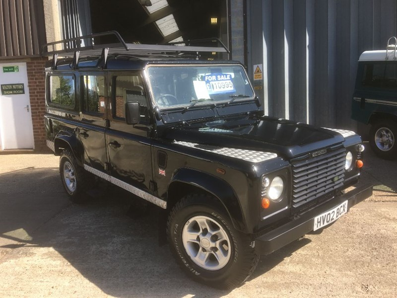 used Land Rover Defender 110 TD5 STATION WAGON in cranleigh-surrey