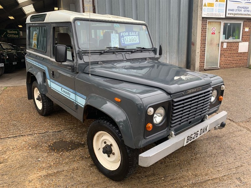 used Land Rover Defender 90 4CYL PETROL GENUINE COUNTY STATION WAGON in cranleigh-surrey