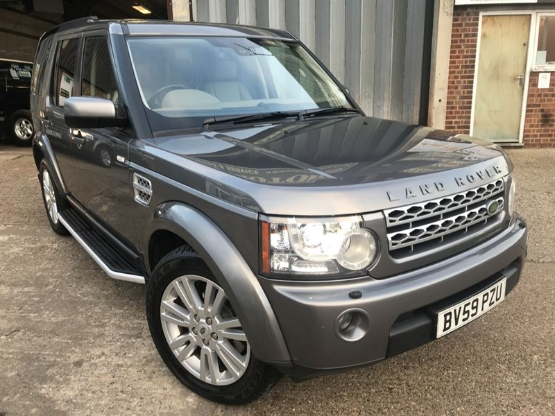 used Land Rover Discovery 4 TDV6 HSE in cranleigh-surrey