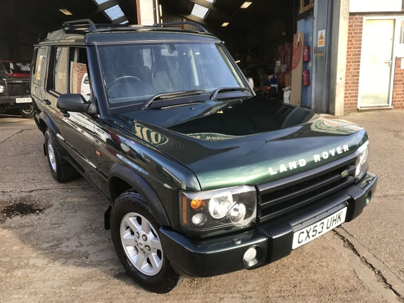 used Land Rover Discovery TD5 GS 7STR in cranleigh-surrey