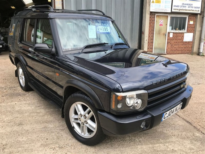 used Land Rover Discovery LANDMARK TD5 7 SEATER in cranleigh-surrey
