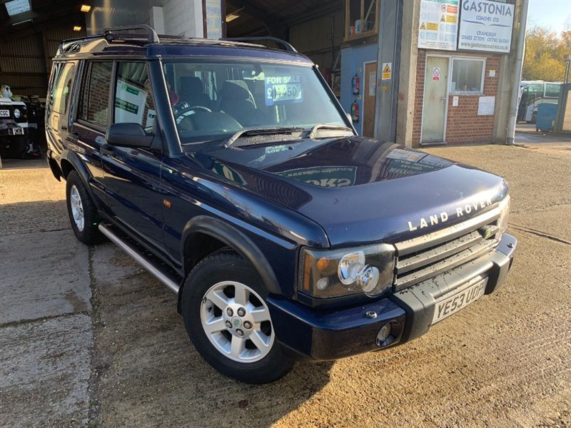used Land Rover Discovery TD5 GS 7 SEATER in cranleigh-surrey