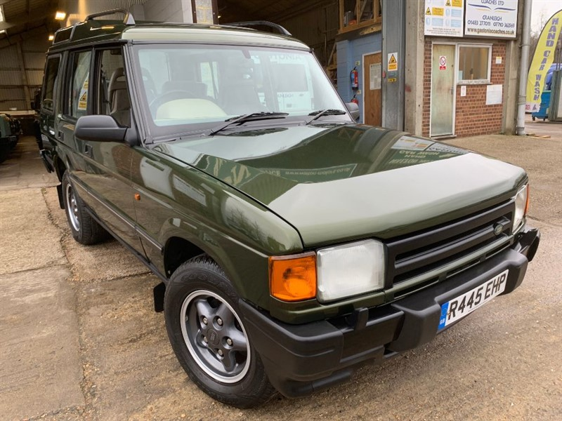 used Land Rover Discovery TDI in cranleigh-surrey