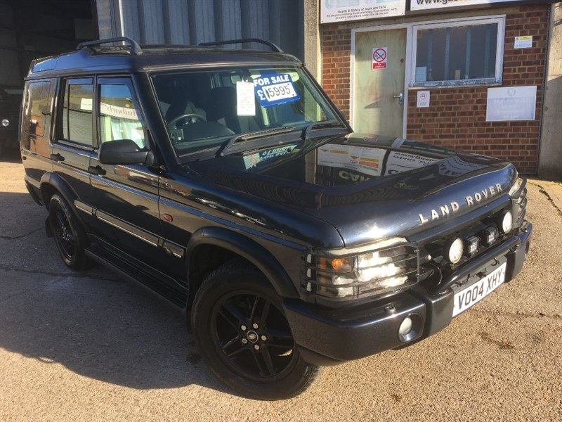 used Land Rover Discovery PURSUIT S TD5 auto 5 seater in cranleigh-surrey