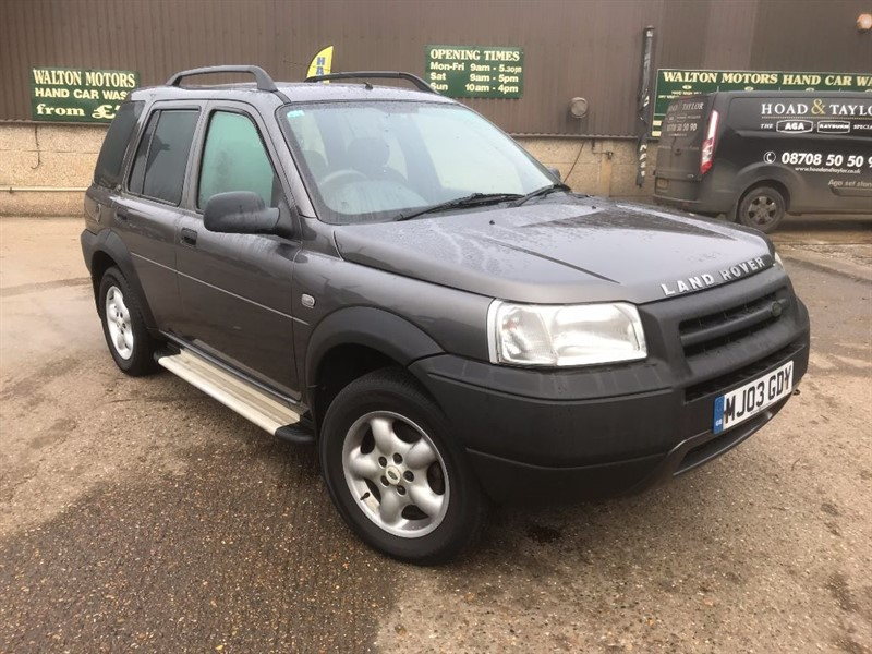 used Land Rover Freelander TD4 SERENGETI in cranleigh-surrey