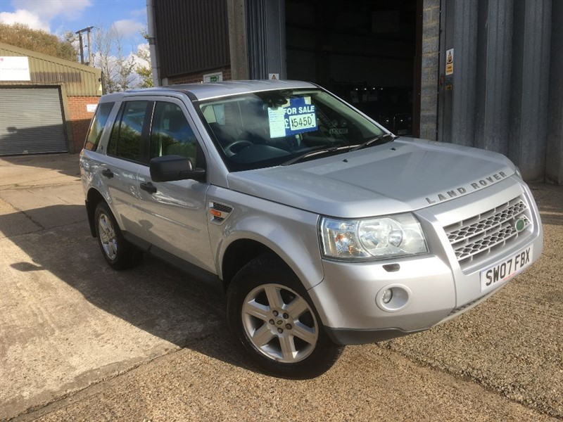 used Land Rover Freelander TD4 GS in cranleigh-surrey