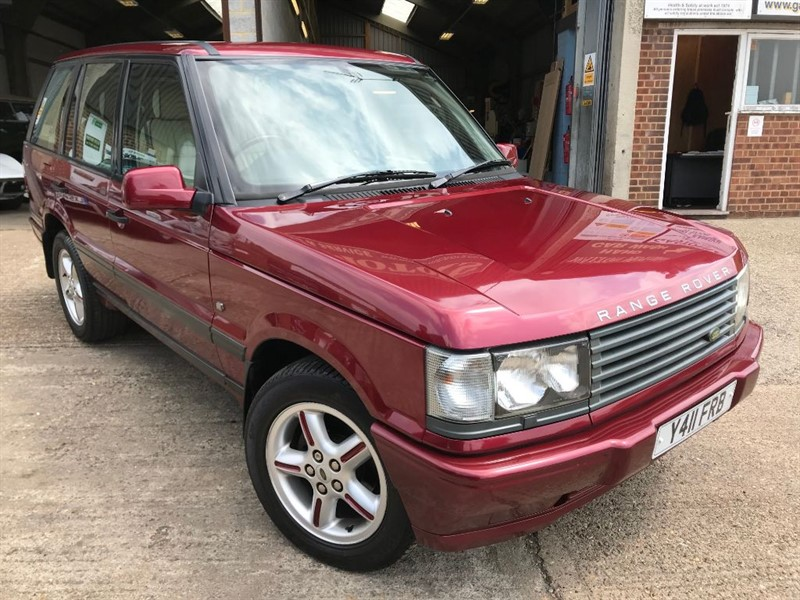used Land Rover Range Rover BORDEAUX **LIMITED EDITION** in cranleigh-surrey