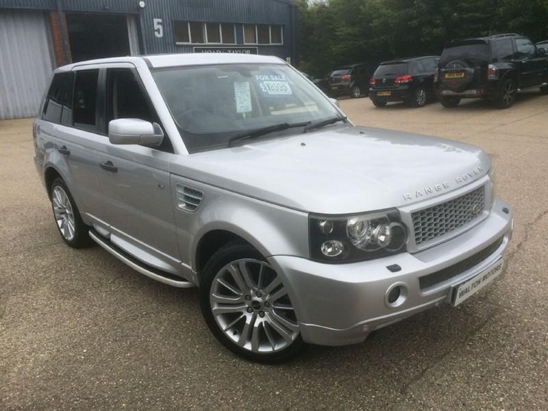 used Land Rover Range Rover Sport hse auto fsh mega spec in cranleigh-surrey