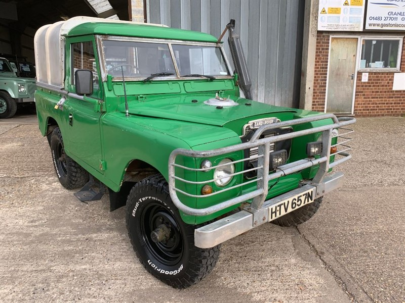 """used Land Rover Series 3 88"""" - 4 CYL in cranleigh-surrey"""