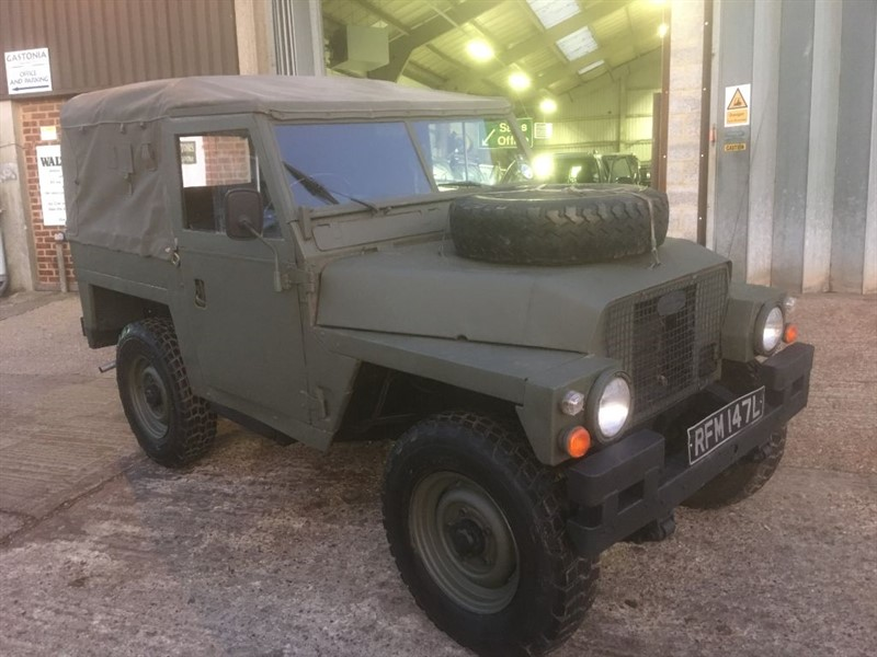 used Land Rover Series 3 lightweight tax and mot excempt in cranleigh-surrey