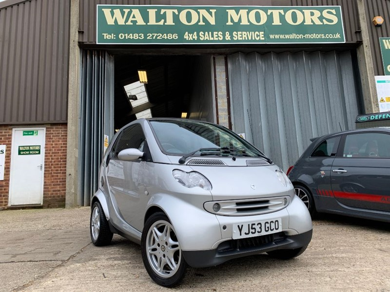used Smart Car Fortwo CITY PASSION SOFTOUCH in cranleigh-surrey
