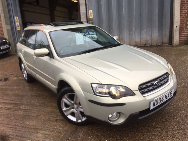 used Subaru Outback R AWD in cranleigh-surrey