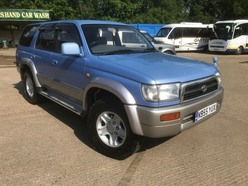 used Toyota Surf SURF  3.0TD SSR-X Automatic in cranleigh-surrey