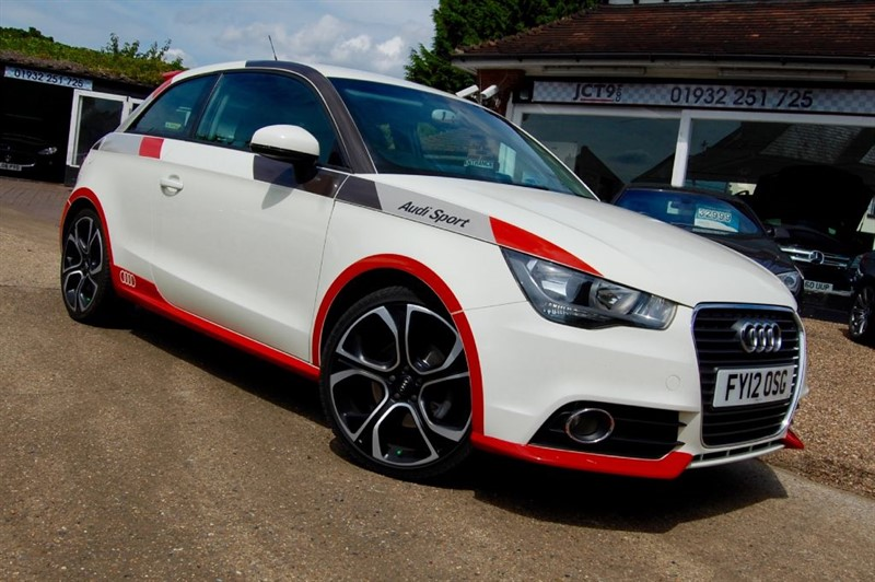 used Audi A1 TDI COMPETITION LINE   FACTORY NAV in shepperton-surrey