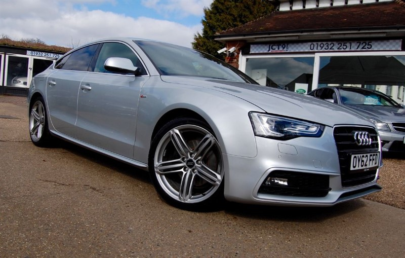 used Audi A5 SPORTBACK TDI S LINE   NAV   BIG SPEC in shepperton-surrey