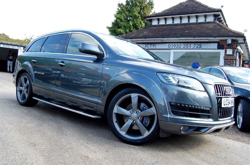 used Audi Q7 TDI QUATTRO S LINE STYLE EDITION   6.5K OPTIONS in shepperton-surrey
