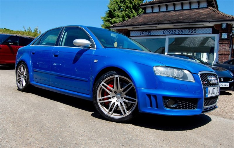 Audi RS4 Saloon for sale