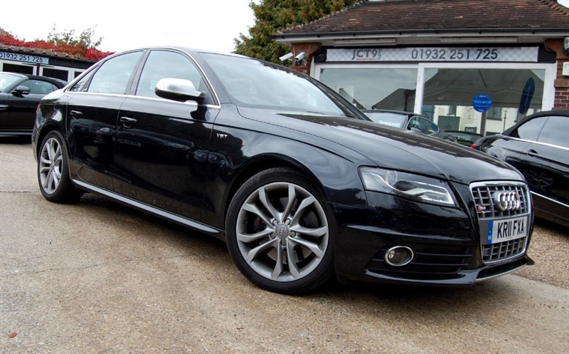 used Audi S4 3.0T V6 QUATTRO S-TRONIC  FASH in shepperton-surrey