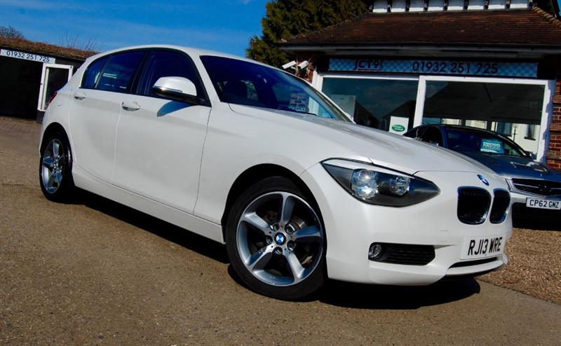 used BMW 114d SE   3K OPTIONS  FSH in shepperton-surrey