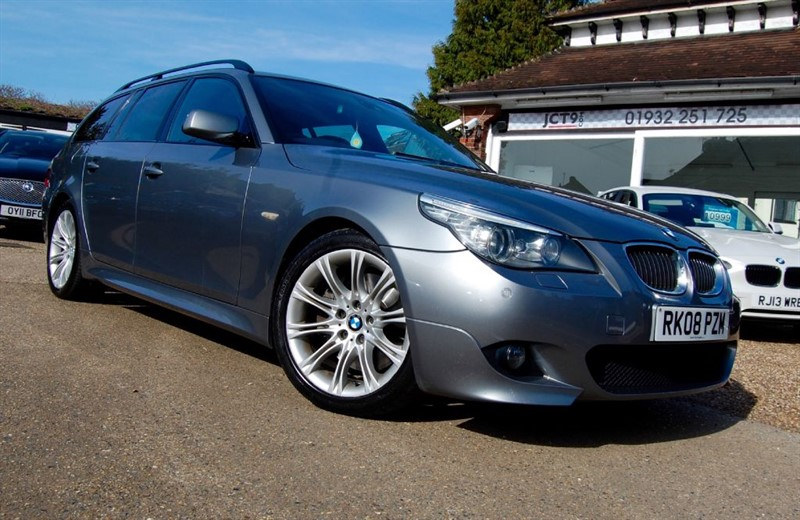 used BMW 535d M SPORT TOURING   FSH   7K OPTIONS in shepperton-surrey