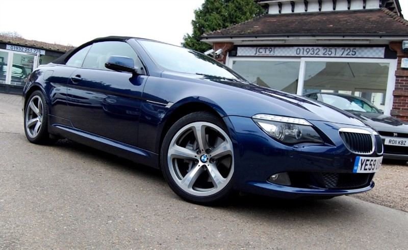 used BMW 635d SPORT in shepperton-surrey