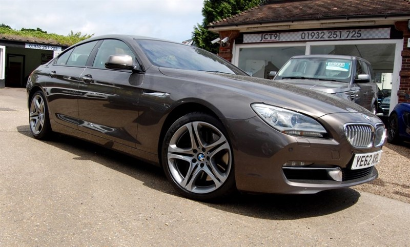 used BMW 650i SE GRAN COUPE   85K NEW   FBMWSH in shepperton-surrey
