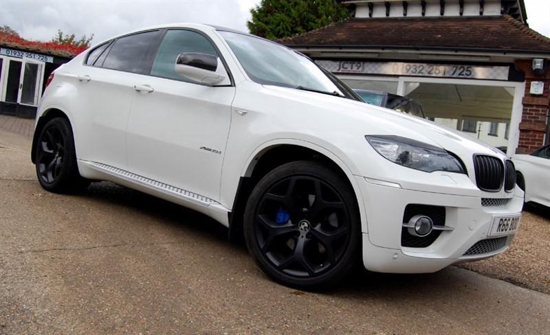used BMW X6 XDRIVE35D   BIG SPEC   FSH in shepperton-surrey