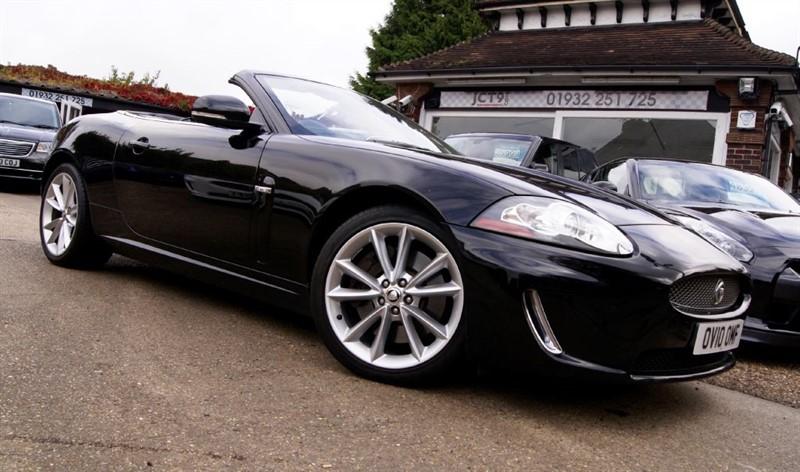 used Jaguar XK 5.0 V8   FSH    in shepperton-surrey