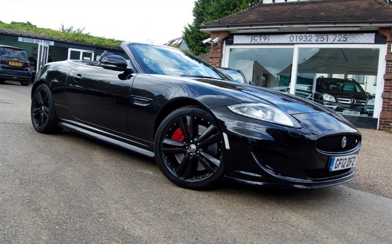 used Jaguar XKR 5.0 V8 S/C   FJSH   SPEED/BLACK/PERFORMANCE SEATS in shepperton-surrey