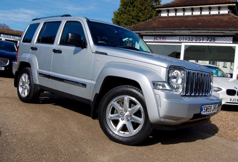 used Jeep Cherokee LIMITED in shepperton-surrey