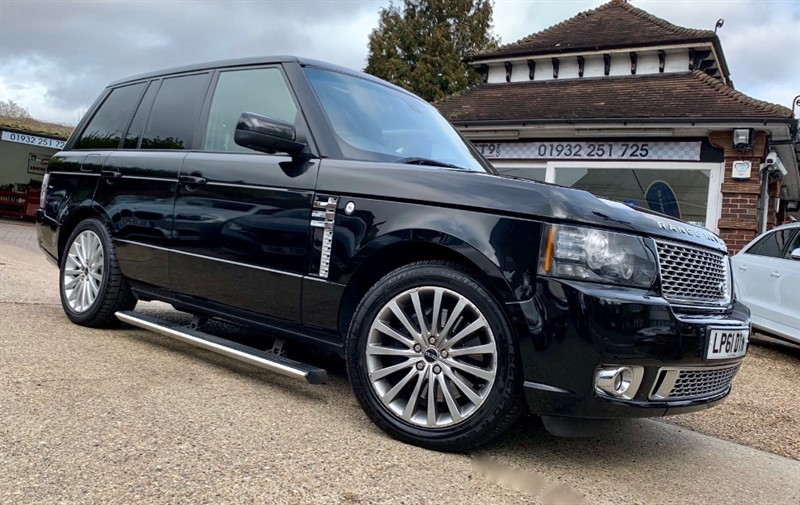 used Land Rover Range Rover 5.0 V8 S/C Autobiography  EVERY OPTION AVAILABLE in shepperton-surrey