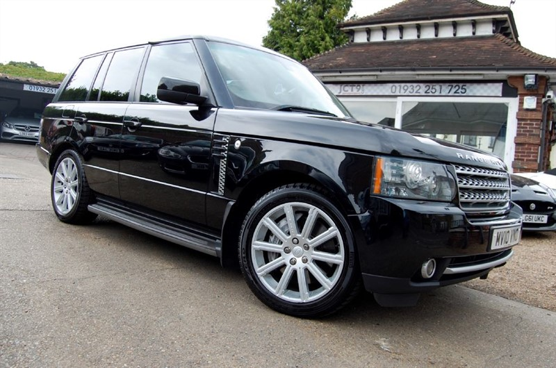 used Land Rover Range Rover V8 S/C AUTOBIOGRAPHY in shepperton-surrey