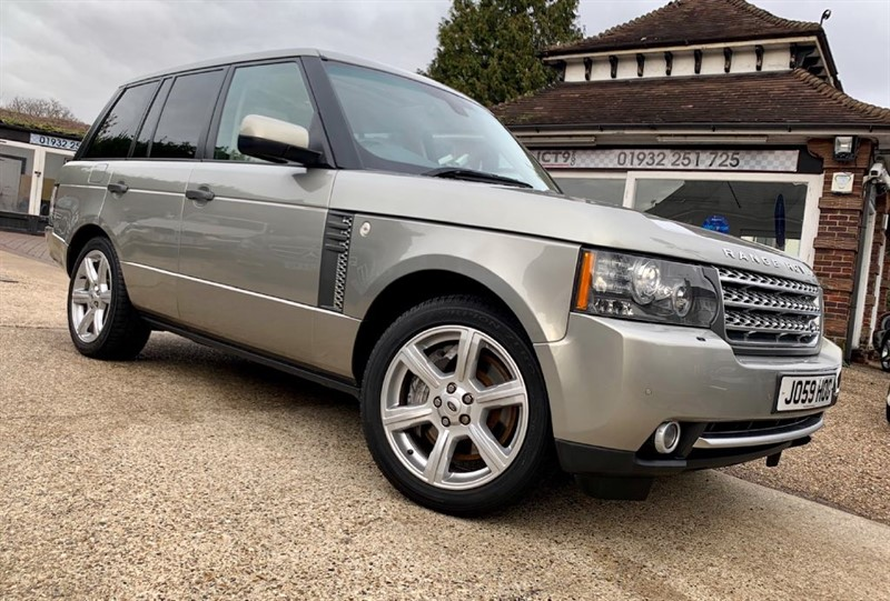 used Land Rover Range Rover V8 AUTOBIOGRAPHY in shepperton-surrey