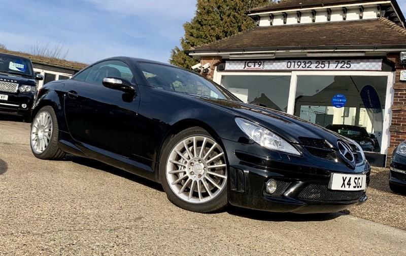 used Mercedes 170 SLK55 AMG   4K OPTIONS in shepperton-surrey