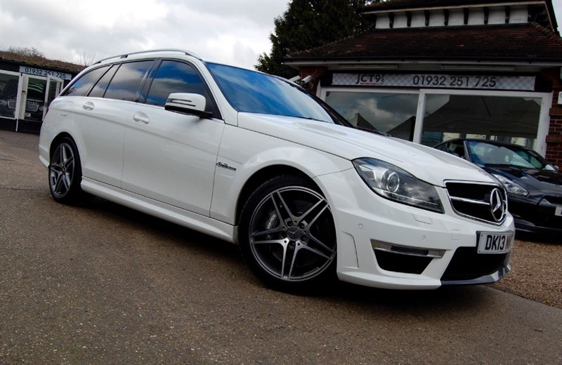 used Mercedes C63 AMG AMG MCT    FMBSH in shepperton-surrey