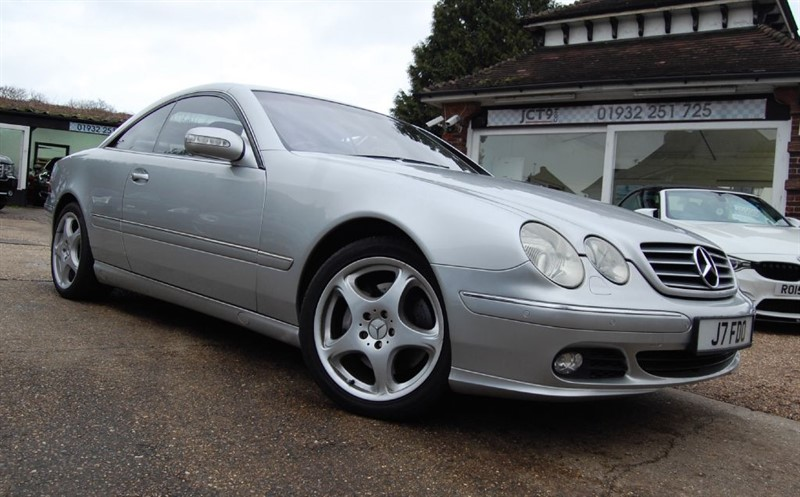 used Mercedes CL500 FSH   in shepperton-surrey